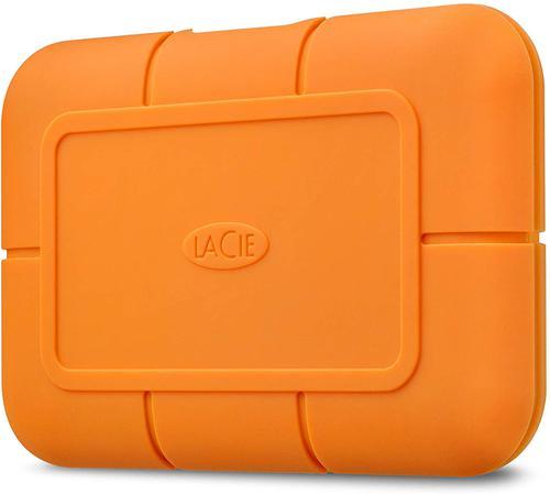 2TB Rugged USBC Orange Exernal SSD