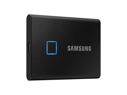 2TB T7 Touch USBC Black Ext SSD