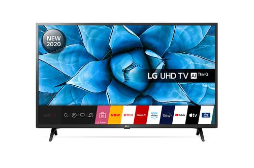 50in UN73006 4K UHD Smart LED TV Black