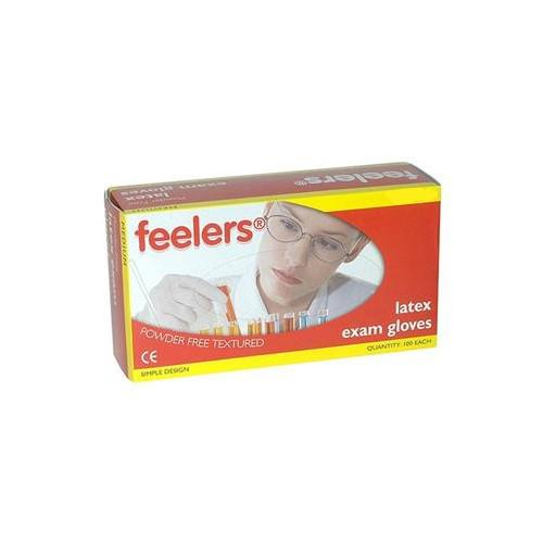Value Powder Free Latex Gloves Medium (Pack 100)