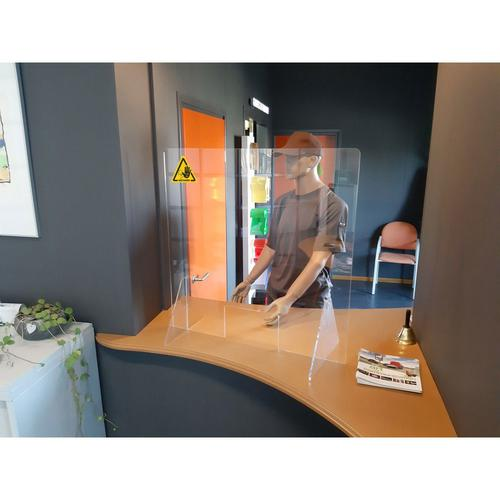 Jalema Desk Screen with Pass Through Hatch