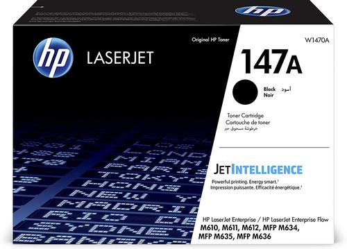 HP W1470A 147A Black Toner 10.5K