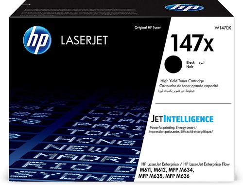 HP W1470X 147X Black Toner 25.2K