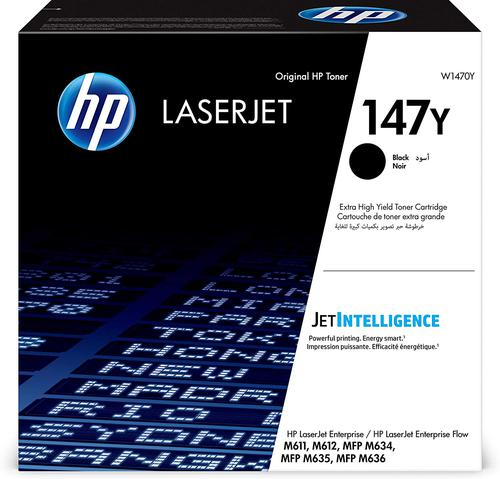 HP W1470Y 147Y Black Toner 42K