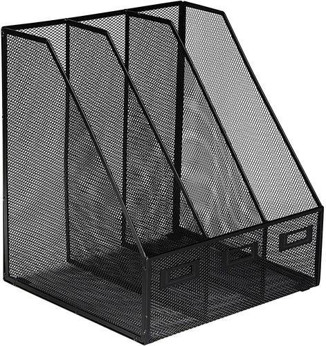 OSCO Mesh Triple Magazine Rack Graphite