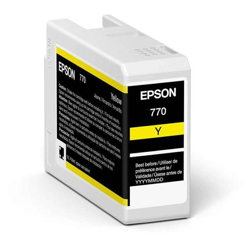 Epson Yellow T46S4 Pro10 Ink Cartridge 25Ml