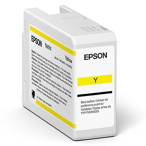 Epson Yellow T47A4 Pro10 Ink Cart 50Ml