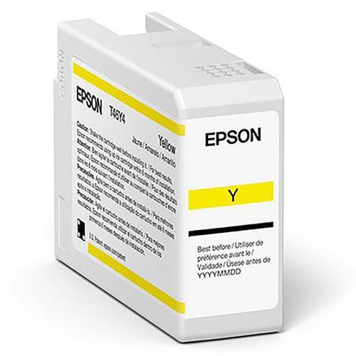 Epson Yellow T47A4 Pro10 Ink Cartridge 50Ml
