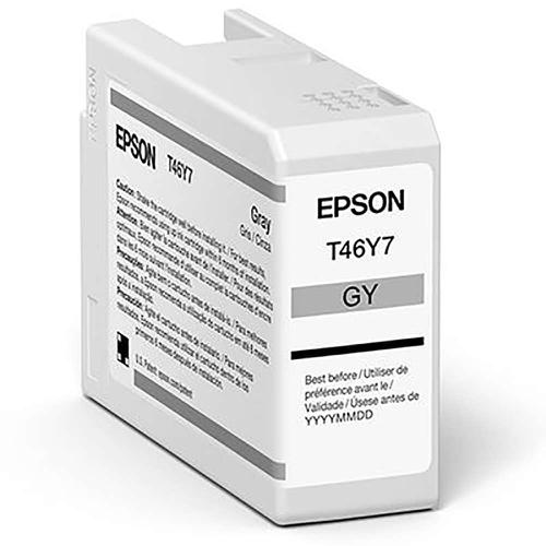 Epson Grey T47A7 Pro10 Ink Cart 50Ml