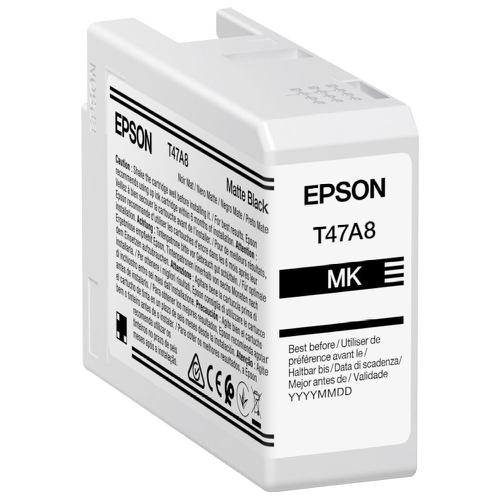 Epson Matte Black T47A8 Pro10 Ink Cart 50Ml