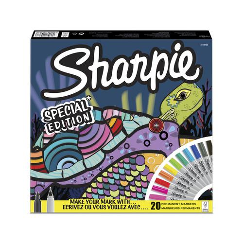 Sharpie Permanent Fine Point Markers Set - Special Edition (Pack 20)