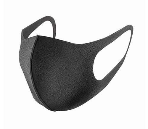 Reusable Polyurethane Mask with Elasticated Earloop Black SP269