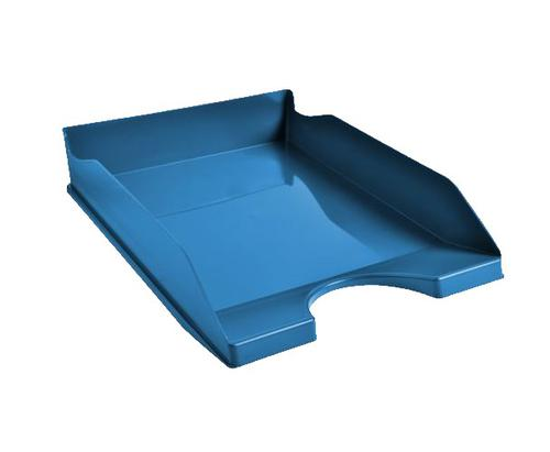 Exacompta CleanSafe Letter Tray A4 Blue
