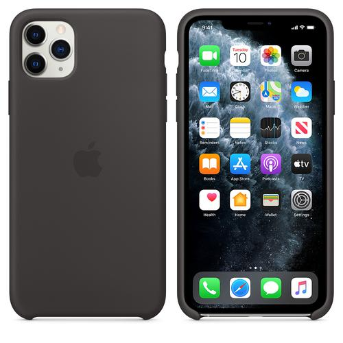 Apple Leather Case (Black) for iPhone 11 Pro Max