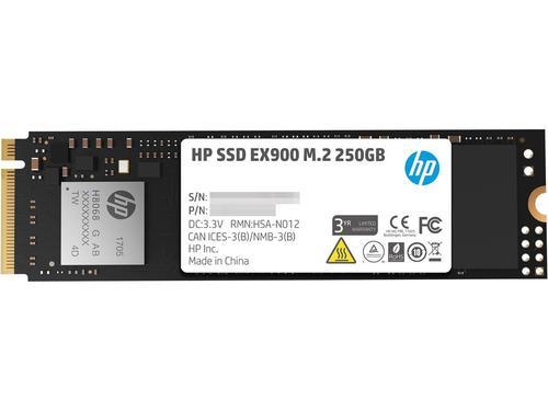 HP SSD EX900 250GB M.2 NVMe 22YY43AA#ABB