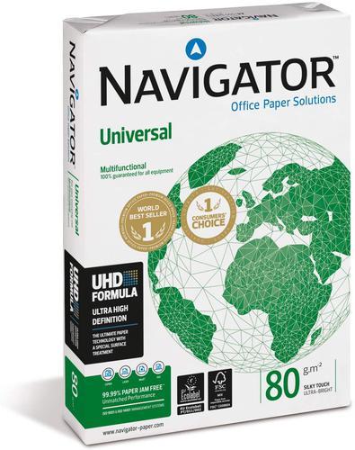 Navigator Universal Paper A4 80gsm White (Box 10 Reams)
