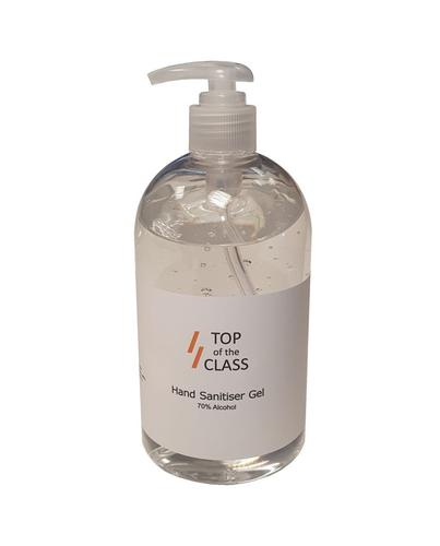 Top of the Class Hand Sanitiser 500ml Pump Top Single Bottle