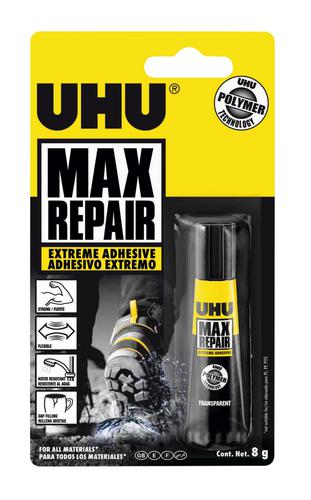 UHU Max Repair 8g Blister Card 3-36382