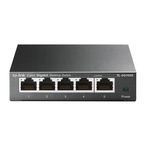 5 Port 10 100 1000 Mbps Unmanaged Switch