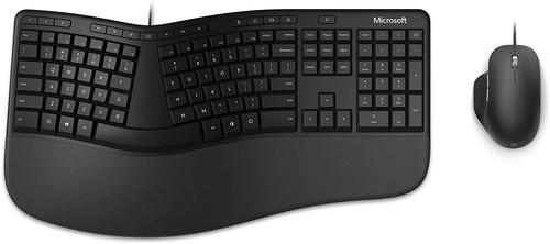 Microsoft Ergonomic Desktop Black