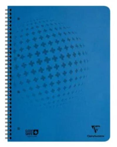 CleanSafe Notebook A5 60 Sheets Blue PK5
