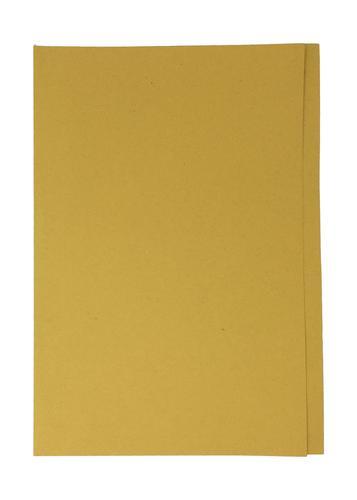 ValueX Square Cut Folder Manilla Foolscap 180gsm Yellow (Pack 50)