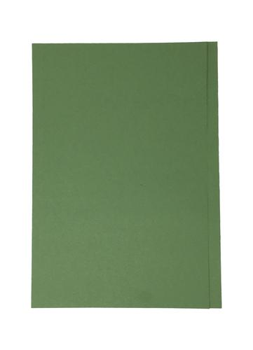 ValueX Square Cut Folder Manilla Foolscap 180gsm Green (Pack 100)