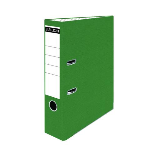 ValueX Lever Arch File Paper on Board A4 70mm Spine Width Green (Pack 10)