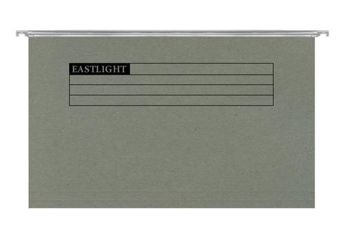 ValueX A4 Suspension File Manilla 15mm V Base Green (Pack 50)
