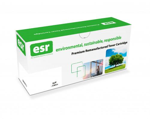 esr Cyan Standard Capacity Remanufactured HP Toner Cartridge 32k pages - CF301A