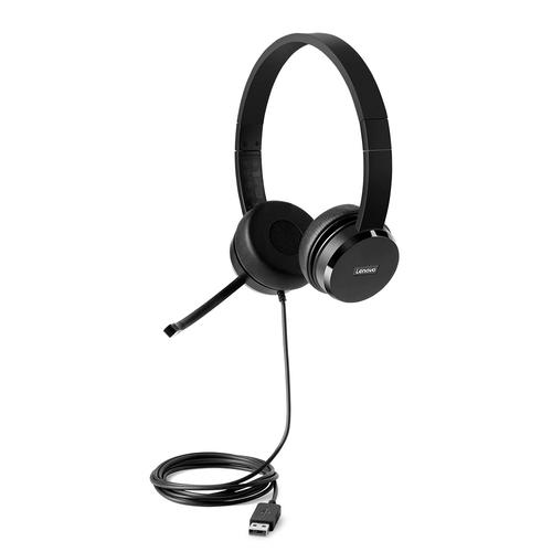 Lenovo 100 Wired USB Headset