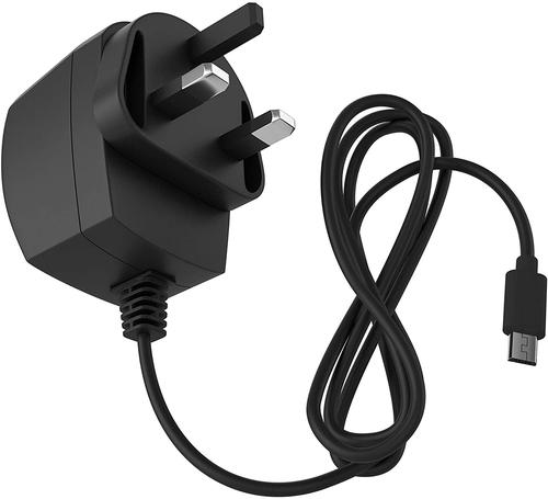 KIT Micro USB 2A Mains Charger Black