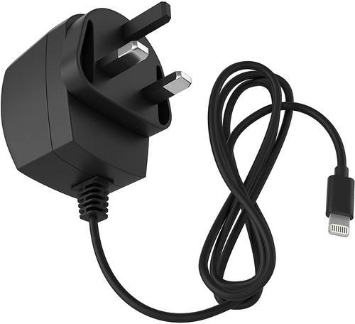 KIT Lightning MFI 2A Mains Charger Black