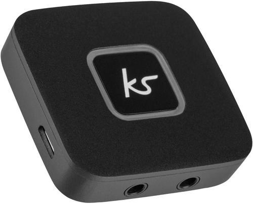KitSound Fresh Headphone Splitter Black