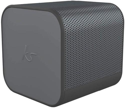 BoomCube Bluetooth Speaker Gun Metal
