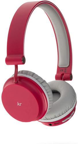 KitSound Red Metro Bluetooth Headphones