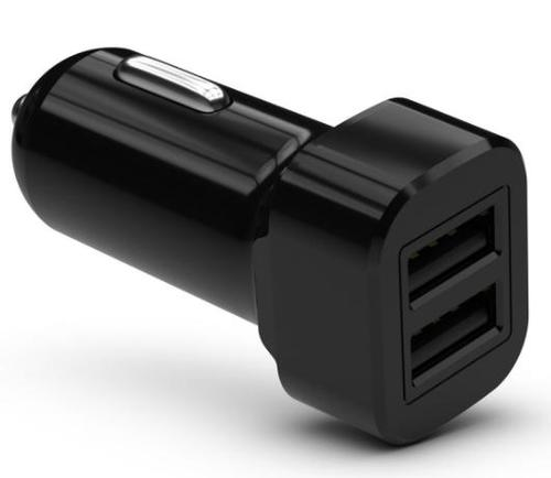 KIT Dual USB A Car Charger 3A Black