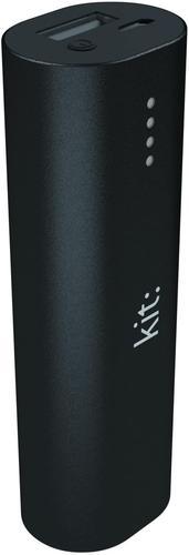 KIT Power Bank Li Ion 3000 mAh Black