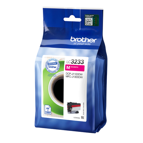 Brother Magenta High Yield Ink Cartridge LC3233M by Brother, BA78722