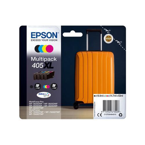 EPSON 405XL MULT PK BK CMY INK CAR 63ML