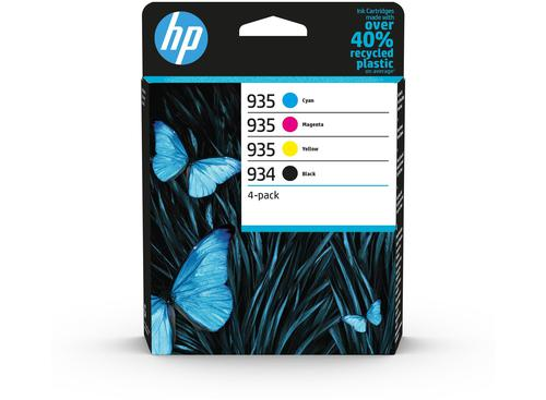 HP 934/935 Cyan Magenta Yellow Black Ink Cartridge Combo 4 pack for HP OfficeJet Pro 6230/6830 - 6ZC72AE