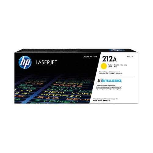 HP 212A High Yield Standard Capacity Toner Cartridge 4.5K pages HP Colour LaserJet Enterprise M555 / M554 / M578 series - W2122A