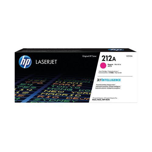 HP W2123A 212A Magenta Toner Cart 4.5K