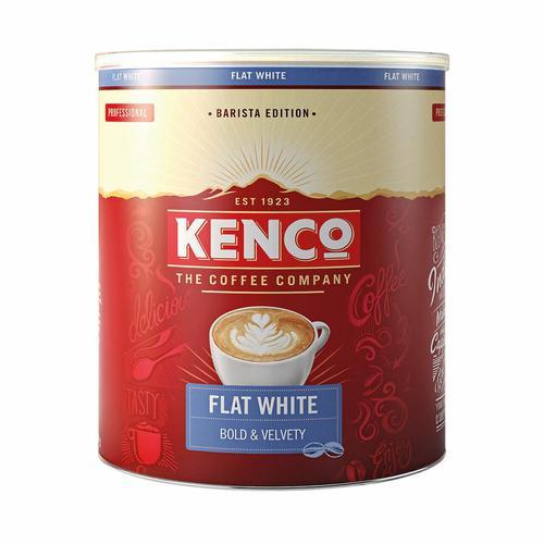 Kenco Flat White Instant Coffee 1kg