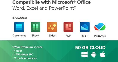 Mobisystems Officesuite Personal Software Licence Pack OSP by Mobisystems Inc, MOB04580