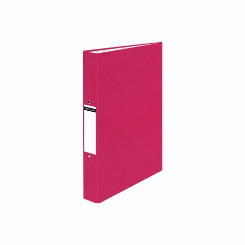 ValueX Ring Binder Paper on Board 2 O-Ring A4 19mm Rings Red