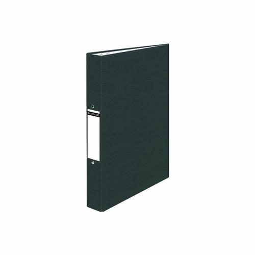 ValueX Ring Binder Paper on Board 2 O-Ring A4 19mm Rings Black (Pack 10)