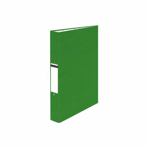 ValueX Ring Binder Paper on Board 2 O-Ring A4 19mm Rings Green