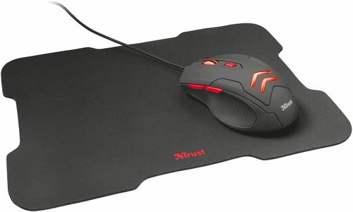 Ziva USB A 3000 DPI Gaming Mouse and Pad