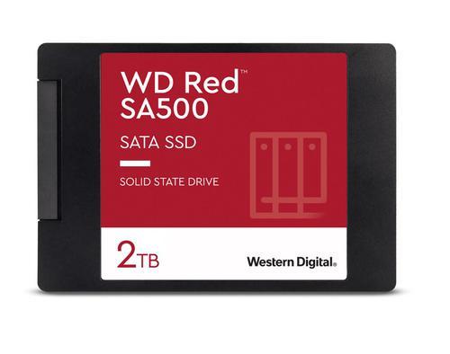 2TB Red SA500 SATA 2.5in NAND Int SSD